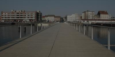 Foot- and cyclebridge Oude Dokken (Gent, 2012)