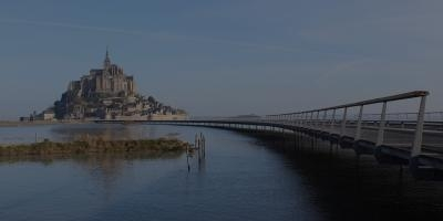 The Jetty to Mont Saint-Michel (Mont Saint-Michel, Normandy, 2014)