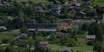Centre aquatique (Saint-Gervais-les-Bains, 2014)