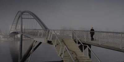 Footbridge over the Rhine (Weil-am-Rhein (D) - Huningue (F), 2007)
